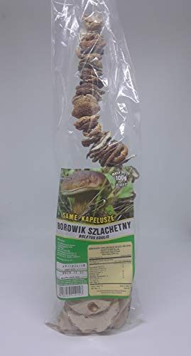 Seweryn Dried Porcini Mushrooms Polish King Boletus (Borowik Szlashetny)Whole caps 100gr/3.52oz