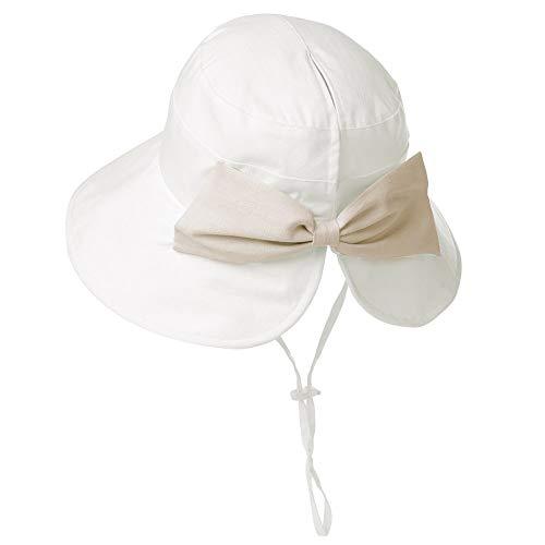 Wide Brim Sun Protection Foldable Beach Safari Hat UPF XL Big White Siggi ()