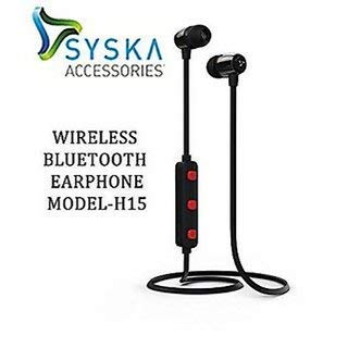 326f68ca7fc SYSKA H-15 Wireless Headset with MIC Multi Colours: Amazon.in ...