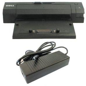R300F - NEW Dell Precision M6400 / M6500 E-Port Plus Docking Station / Port Replicator Kit With Power Adapter - R300F