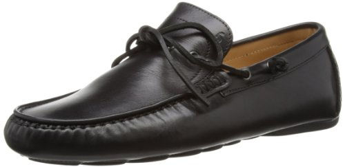 Harrys of London Henley Driver 2 Satin, Zapatos sin cordones de cuero hombre Negro