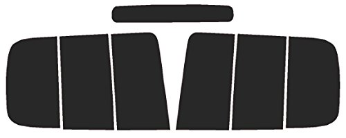 Mustang Tail Light Covers (Precut Vinyl Tint Cover for 2005-2009 Ford Mustang Taillights (20% Dark Smoke))
