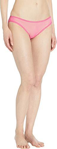 Bikini Mesh Hip (OnGossamer Women's Solid Gossamer Mesh Hip Bikini 3202 Cosmo Pink Medium)