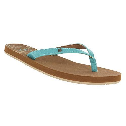 Cobian Women's, Hanalei Flip Flops Seafoam 7 M