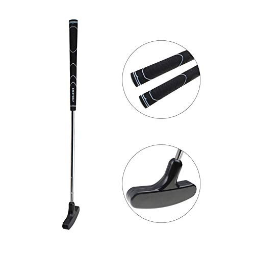 CRESTGOLF Kids Rubber Golf Putter ----24 inches,Double Way, Suitable for both Right Handed&Left Handed(3--5)