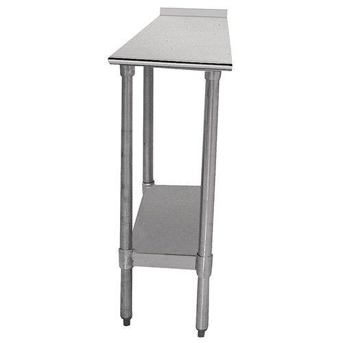 Economy Filler Stainless Steel Top Workbench Size: 37