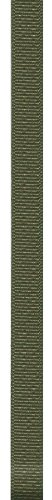 Offray 247082 Grosgrain Craft Ribbon, 1/4-Inch Wide by 100-Yard Spool, Olive Drab - Olive Drab Color