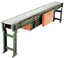 Roach-Conveyor-Light-Duty-Live-Roller-Conveyor-With-10-In-Bf-And-13-Oaw-138Lr-90-Length-90-Option-3-In-Rlr-Ctr-138Lr-90