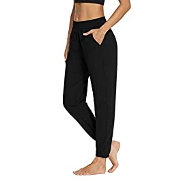 Sarin Mathews Womens Active Joggers Pants Yoga Sweatpants Running Workout Lounge Pants for Women with Pockets