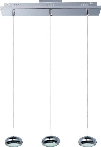 Dial 3-Light Led Linear Pendant E22553-PC