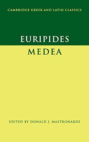 Euripides: Medea (Cambridge Greek and Latin Classics) (Greek and English Edition)