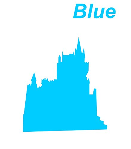 Blue Seal cutting|Castle|Chateau Sticker Decal