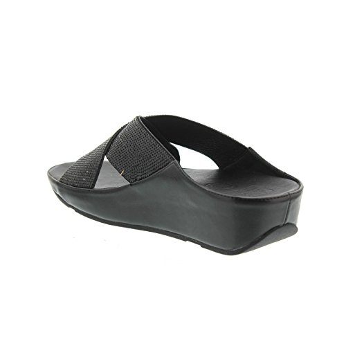 Sandales Femmes Feuille Crystall Fitflop ™ 43