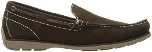 Steve Madden Mens Abileen Slip-on Loafer Marrone Nabuk