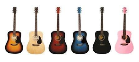 (Stadium D-42 Sunburst Full size Acoustic Guitar Spruce Top)