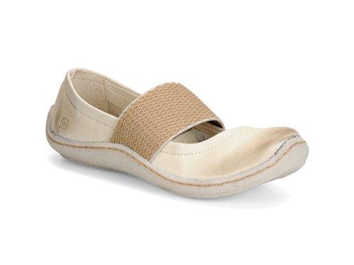 Born Shoes Acai Shoe - Women's Shell(Off White), 7.0