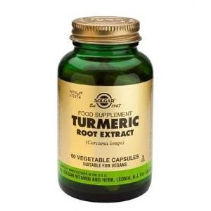 Solgar – Standardized Turmeric Root Extract, 60 Vegetable Capsules (Extract Root Turmeric)