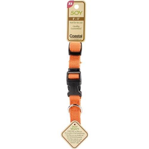 Image of Coastal Pet Products, Inc. 14401 12 Inch x 5/8 Inch Soy Collar - Pumpkin