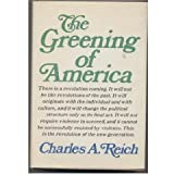 img - for The greening of America;: How the youth revolution is trying to make America livable book / textbook / text book