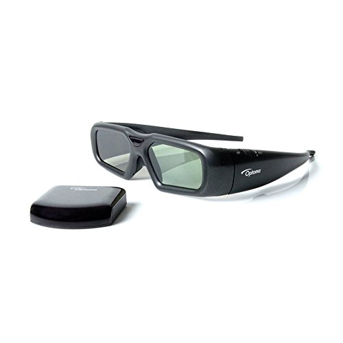 Optoma ZF2300 System 3D-RF Rechargeable 3D Active Glasses Starter Kit (include Optoma BC300 3D RF Emitter)