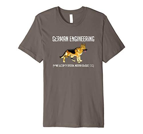 - GERMAN ENGINEERING German Shepherd Dog T-Shirt