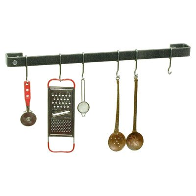 Enclume WR1-24-CP 24-Inch Utensil Bar Premier Wall Rack, Copper by Enclume