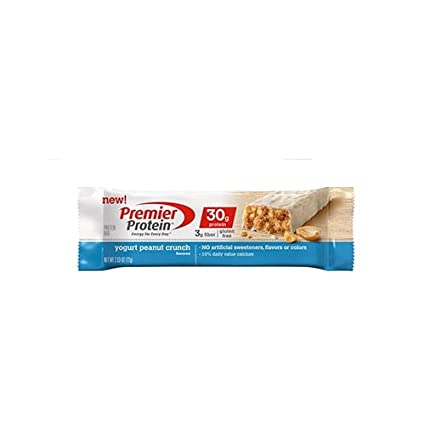 Premier Protein Bar Yogurt Peanut Crunch 6 bars