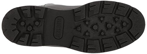 Rocky Men's Men's 10 Inch Pull-on 6300 Work Boot,Black,10.5 XW US by Rocky (Image #3)