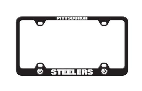 NFL Pittsburgh Steelers Laser License Plate Frame