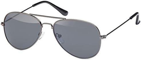 Subke Sonnenbrille Pilotenbrille Fliegerbrille retro Aviator für Kinder in verschiedenen Farben