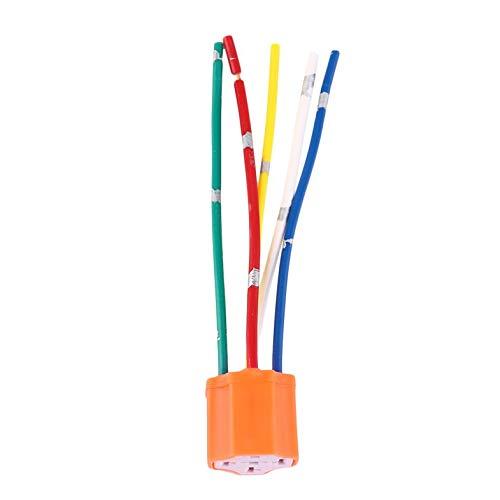 ShiZheng 1pc Sostituzione Cavo Parti Relay Socket Cablaggio 5 Pin 5-Wire per Veicolo Auto