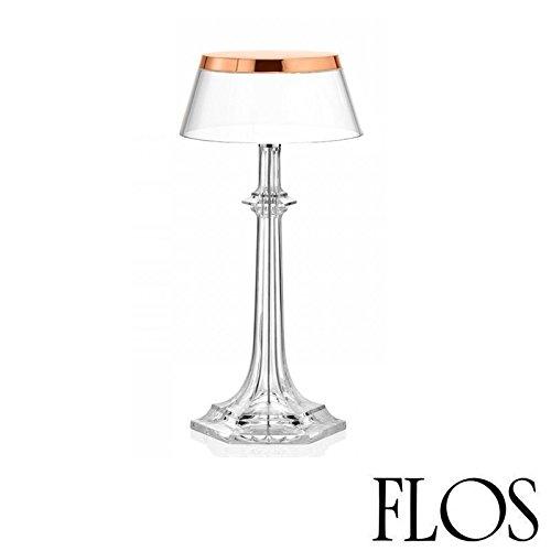 (Flos Bon Jour Versailles Small LED Table Lamp Copper Transparent F1042015 F1036000)