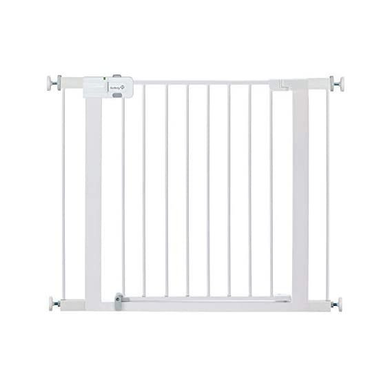 """Safety 1st Two Piece Easy Install Walk Thru Gate, 2 Pack, Fits Space Between 29"""" and 38"""" Wide"""