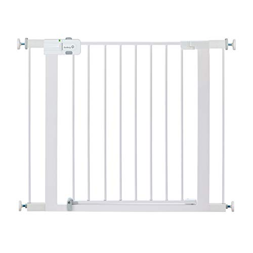 Safety 1st Easy Install Metal Baby Gate with Pressure Mount Fastening White , Pack of 1