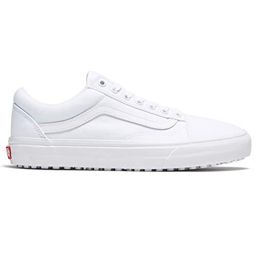 Vans Unisex (Made for The Makers) Old Skool UC Skate Shoes (11.5 Women / 10 Men, True White)