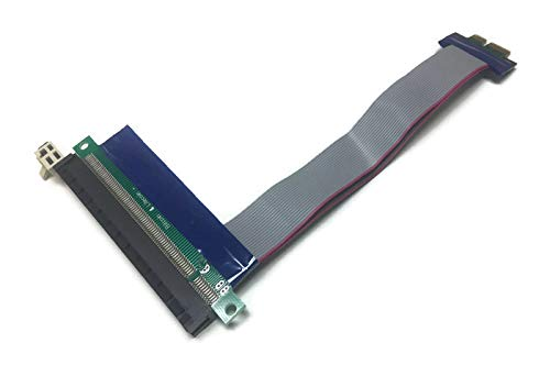 PCI-Express PCI-E x1 to x16 Adapter Extender Cable Ribbon Extender Extension