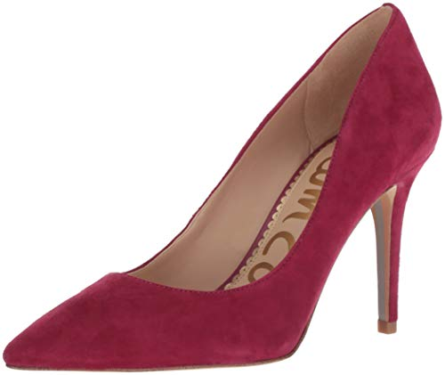 Women''s Pomegranate Sam Edelman Suede Pink Pump Margie a4n6q