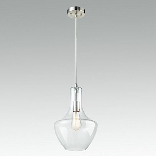 Clear Glass Island Pendant Lights - 7