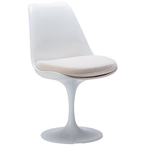 Poly and Bark Daisy Side Chair in White