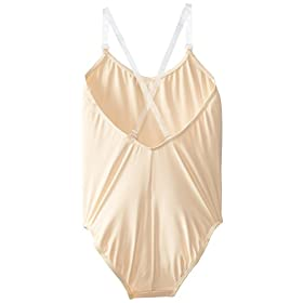 - 3164F MSi6L - Capezio Big Girls' Over's and Under Camisole Leotard