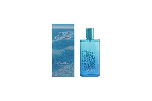 (Davidoff Cool Water Coral Reef Eau De Toilette Spray, 4.2 Fluid Ounce)