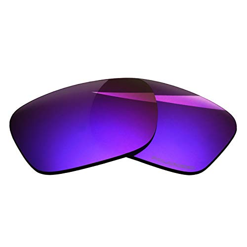 (BlazerBuck Anti-salt Polarized Replacement Lenses for Oakley Holbrook OO9102 - Cosmic Purple)