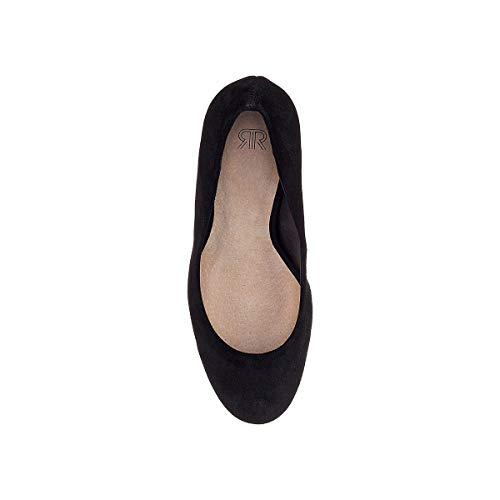 Donna Decollete Redoute Nero Con Pelle Tacco La In Collections qEPwddt