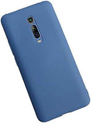 XunEda Funda para Xiaomi Mi 9T,Xiaomi Mi 9T Pro, Ultra Ligero Funda Suave Caso Silicona Liquida Carcasa Protectora Case +Protector de Pantalla para Xiaomi Mi 9T,Mi 9T Pro Smartphone(Azul): Amazon.es: Electrónica