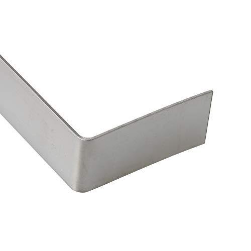 90x1.1mm Silber 304 Edelstahlhalterungen Dachhaken Aufhänger für glasierte Fliesen Keramikfliese Packung von 50 Stück