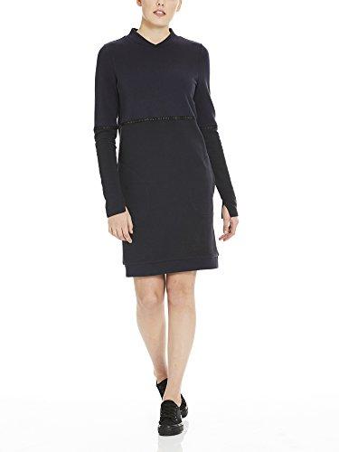 black Beauty Vestido Color Bench Block Mujer Bk11179 Negro Dress Para Sweat z8zwIqp