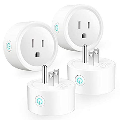 Smart Plug WiFi Outlets Mini Smart Socket for Smart Home Remote Control House Appliance & Electric Devices from Anywhere, Compatible with Amazon Alexa Echo Google Assistan, 4 Packs, Support 2.4GHz, N - 3164IICxAVL - Smart Plug WiFi Outlets Mini Smart Socket for Smart Home Remote Control House Appliance & Electric Devices from Anywhere, Compatible with Amazon Alexa Echo Google Assistan, 4 Packs, Support 2.4GHz, N
