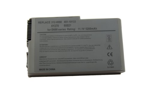 D600 Series Battery - Laptop/Notebook Battery for Dell Latitude D500 D505 D510 D600 D610 Series