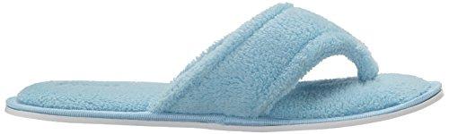 Toe Spa Slipper Lady's Blue Aerusi Bedroom Slippers Slide Sole Comfy Soft Indoor Slipper Cute Classy Home Open SxOqwCx1F