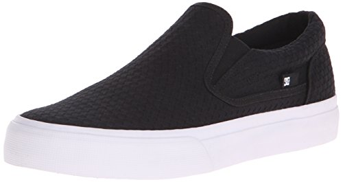 DC Trase Slip-On TX SE Unisex Shoe, Black, 6 M US